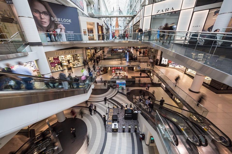 Shopping Mall via Pixabay