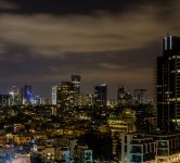 Tel Aviv skyline. Photo via Pixabay