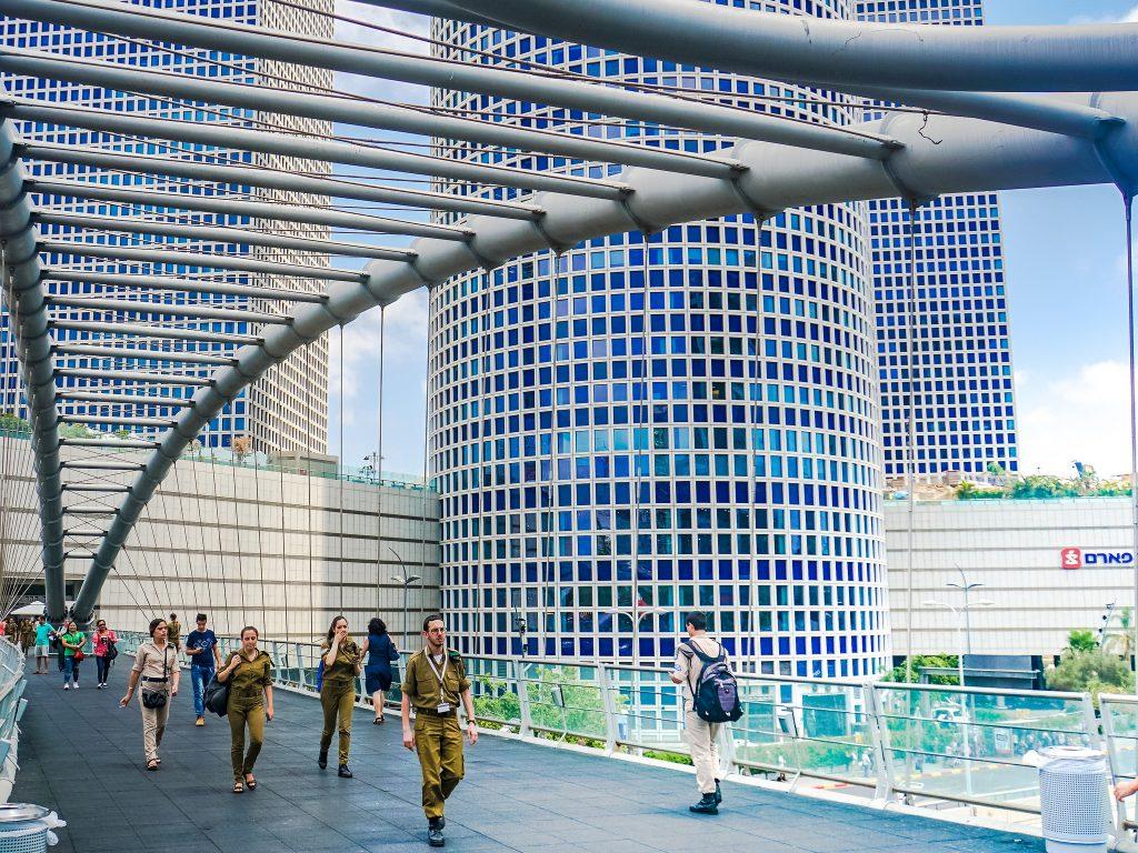 Azrieli Center in Tel Aviv. Photo by Ted Eytan via Flickr