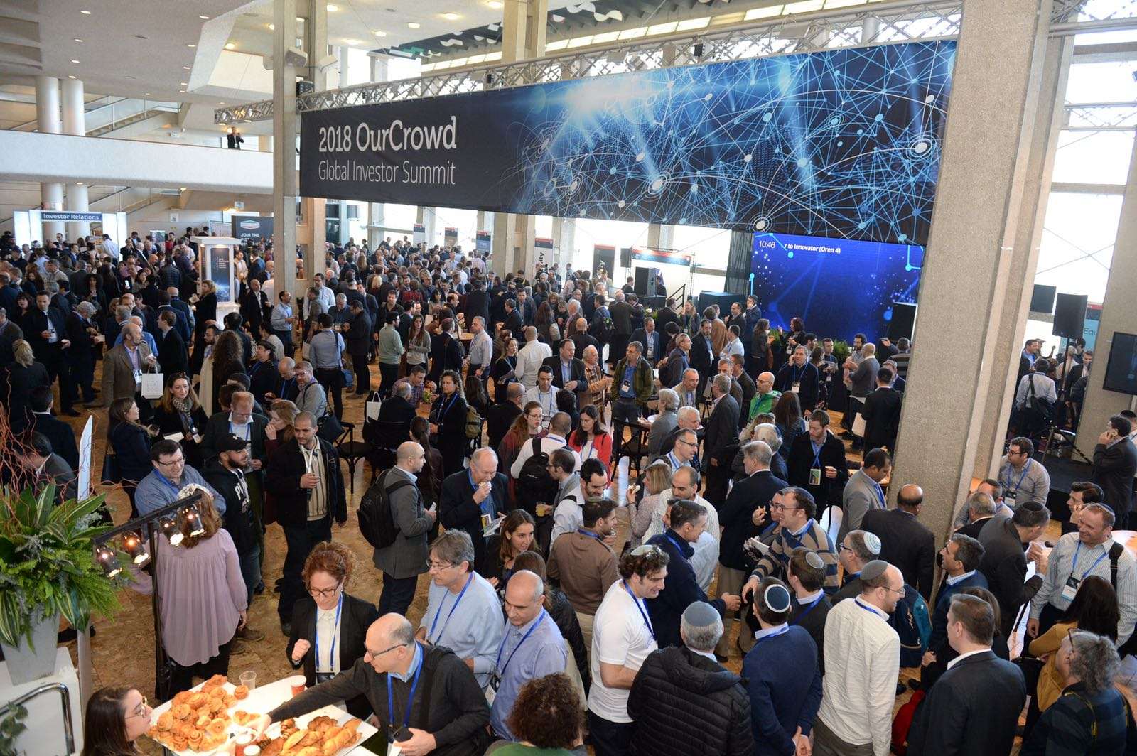 Attendees at the OurCrowd Global Investor Summit in Jerusalem, Februaty 1, 2018. Courtesy