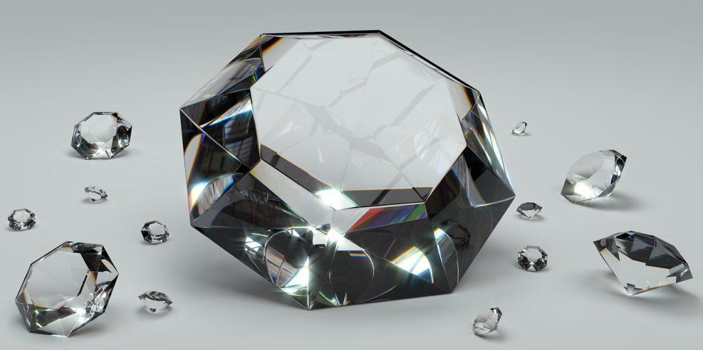 An illustrative photo of diamonds. Pixabay