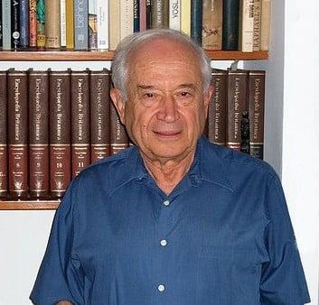 Professor Raphael Mechoulam, a medical cannabis research pioneer. Courtesy