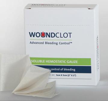 WoundClot bandages