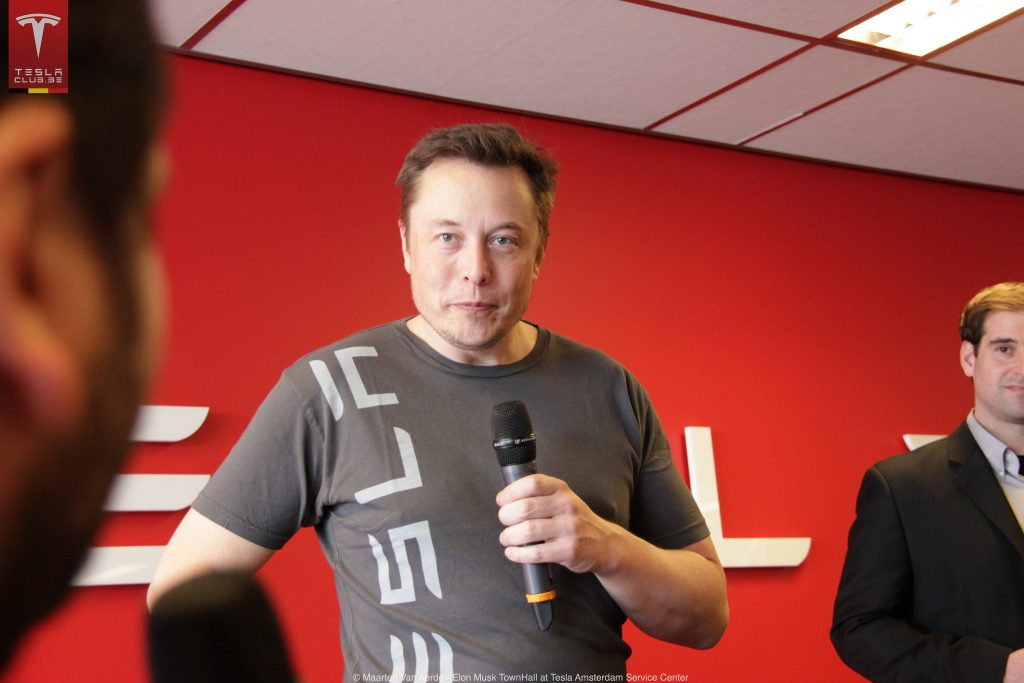 Elon Musk, Tesla Owners Club Belgium via Flickr