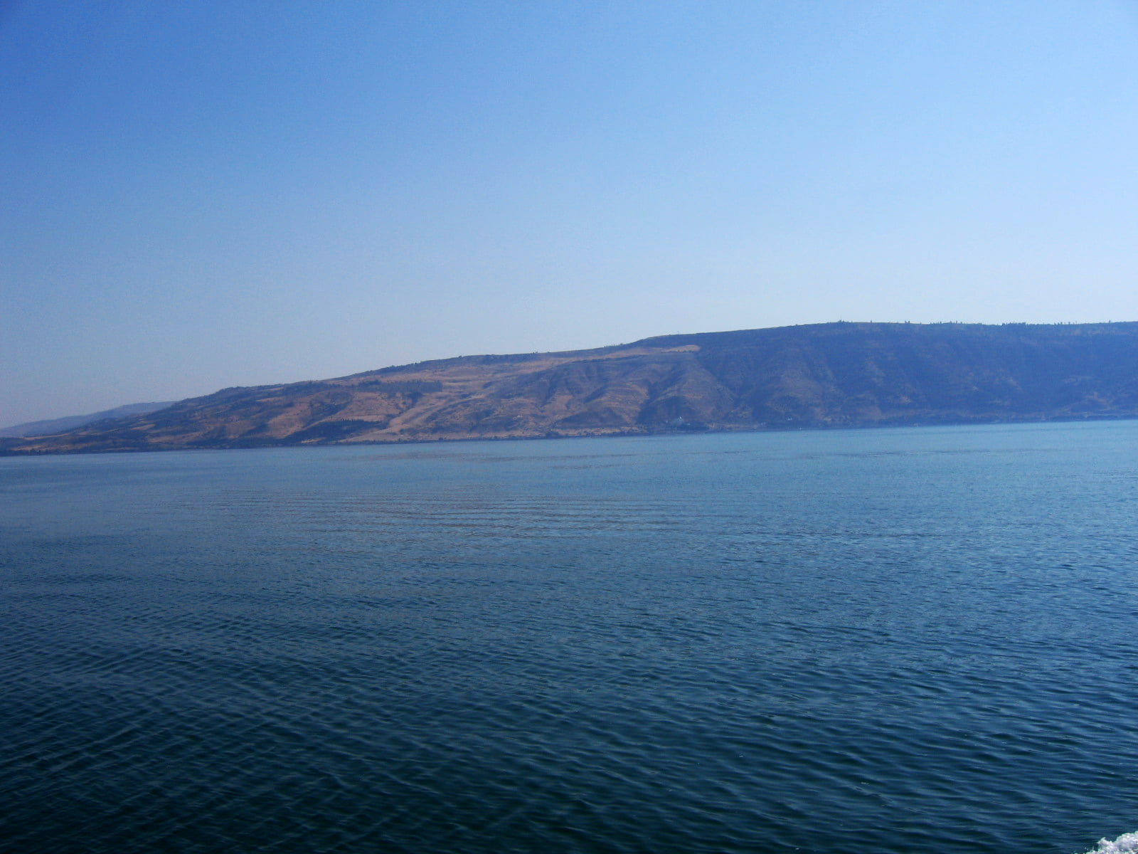 In October 2017, the Water Authority reported that the water of the Sea of Galilee has shrunk to the lowest level ever recorded. Courtesy