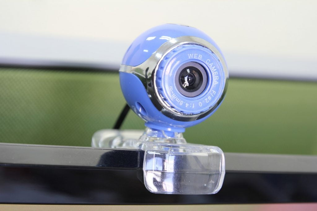 A web camera. Pixabay