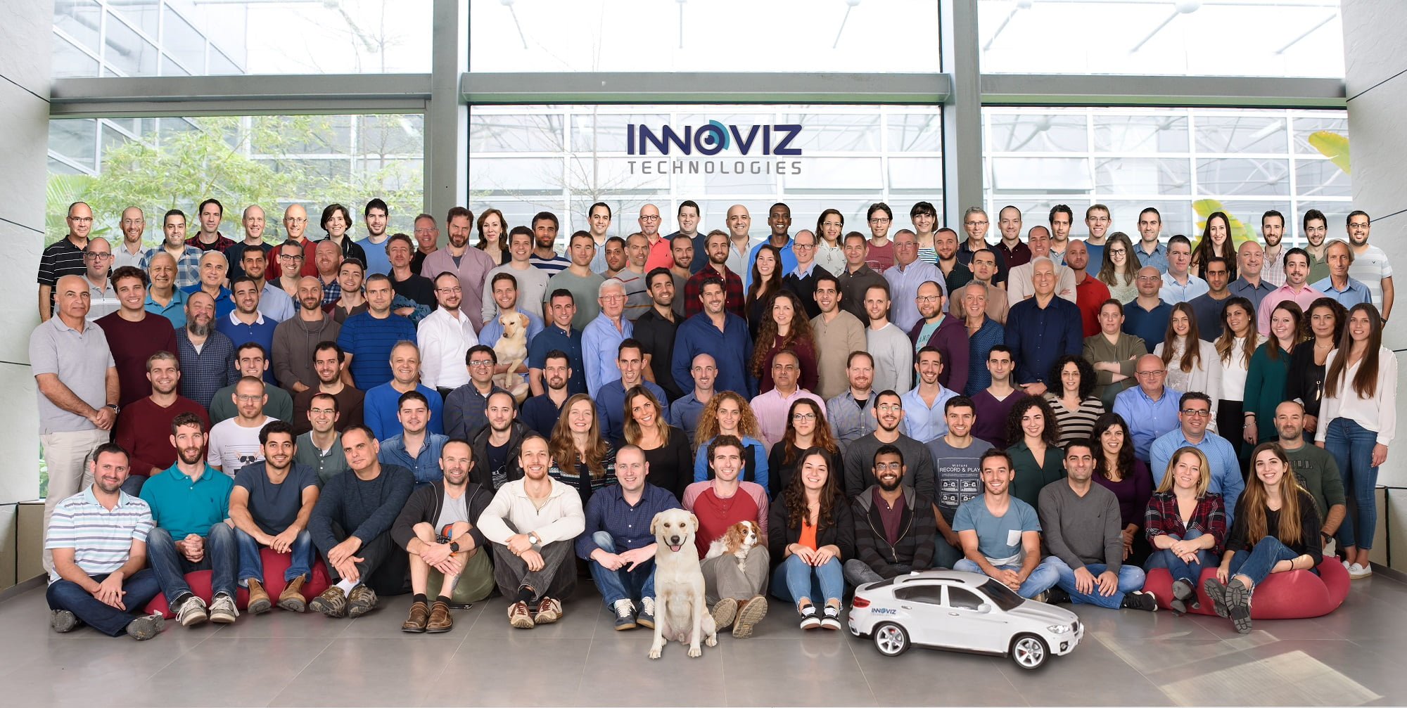 The Innoviz Technologies team made up of 150 employees. Courtesy.
