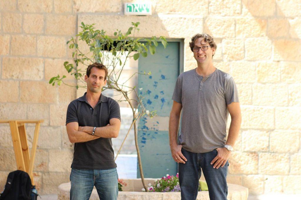 Inspecto founders Avner Avidan and Yair Moneta. Courtesy