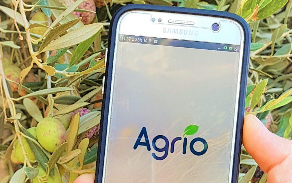 Saillog's Agrio app. Courtesy