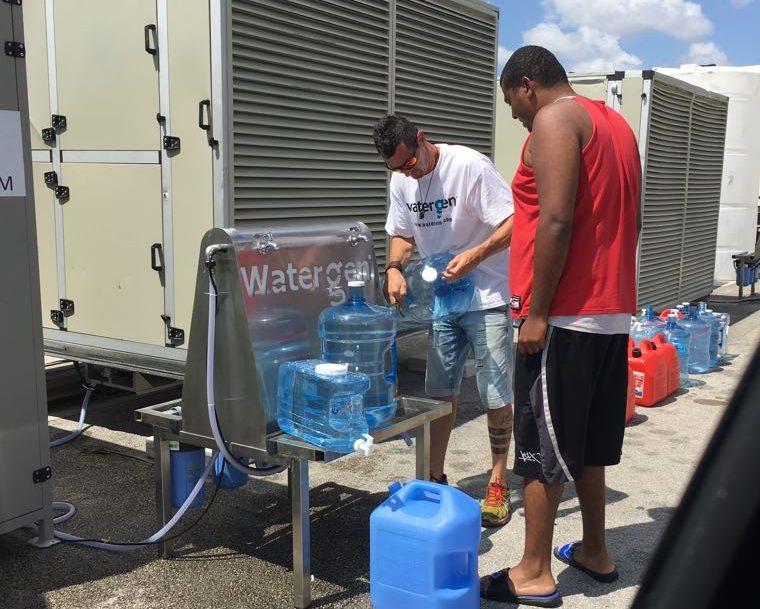 Water-Gen technology in Houston, Texas in 2017. Courtesy Water-Gen
