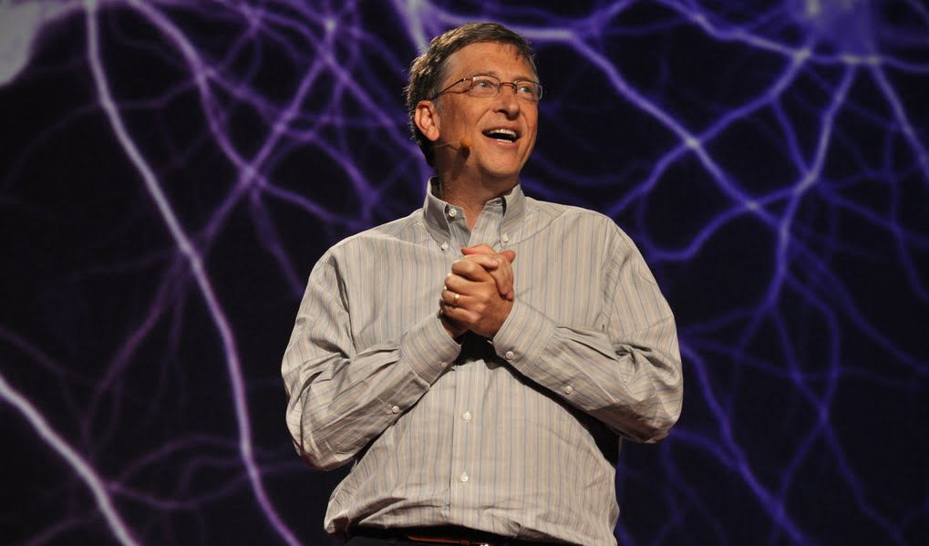 Bill Gates at a TedTalk in 2011. Photo by Gisela Giardino via Flickr CC BY-SA 2.0