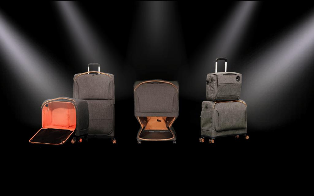 Fugu Luggage's new product Rollux. Courtesy