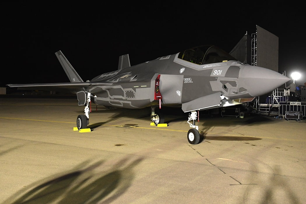 Israel received two F-35 fighter jets in December 2016. Courtesy of US Embassy Tel Aviv, CC 2.0
