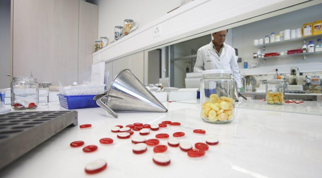 A Frutarom Lab in Zurich. Courtesy