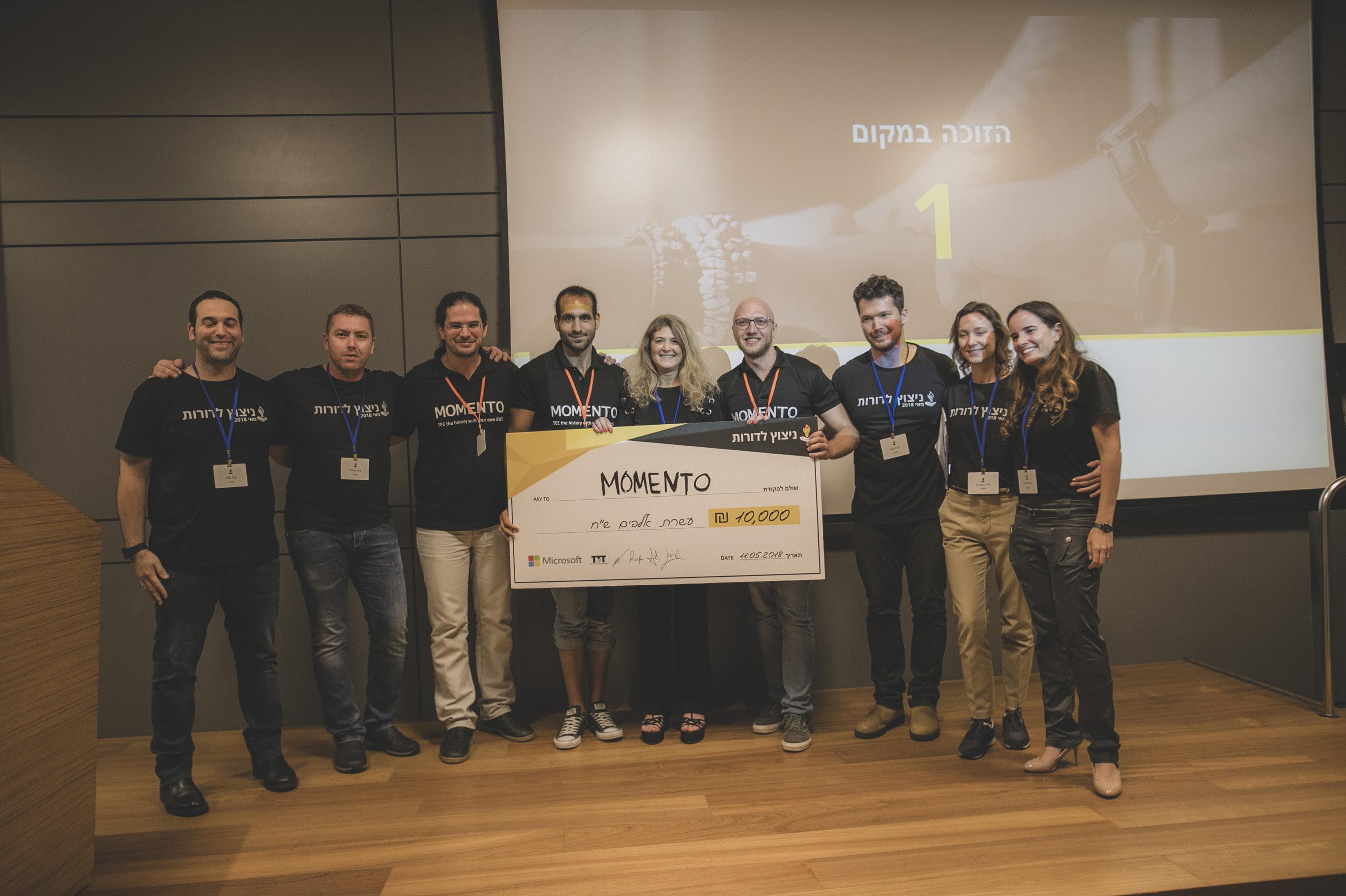 Winner of Spark Hackathon, Courtesy