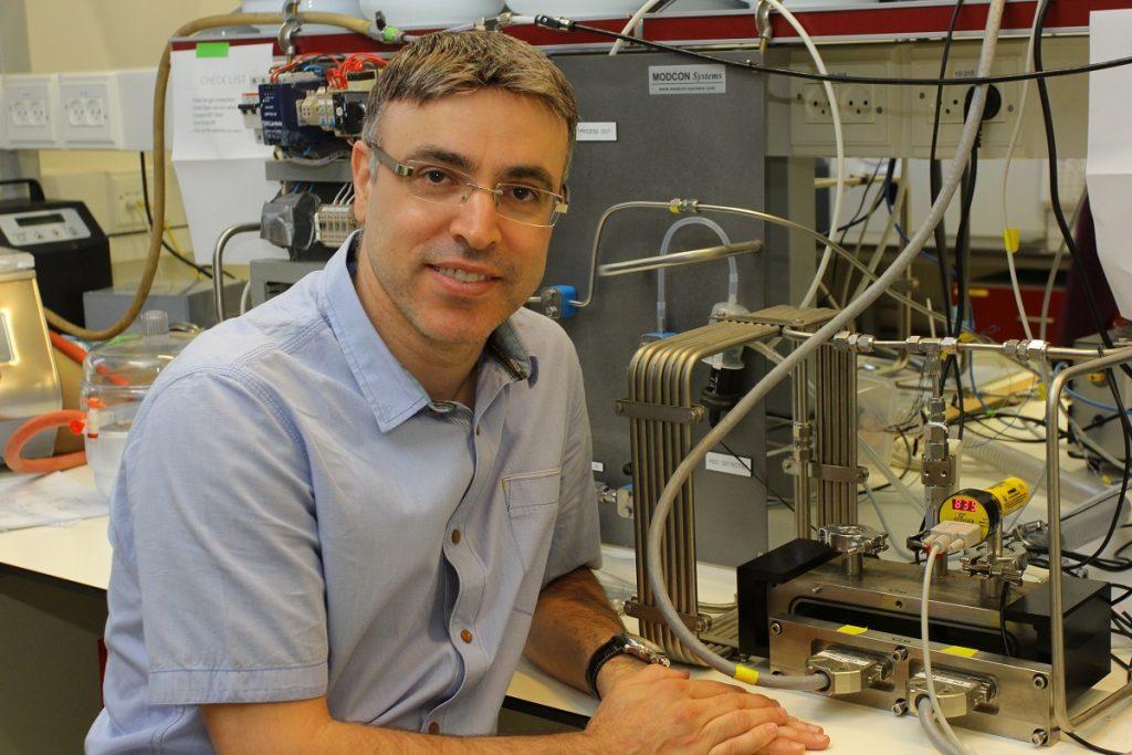 Professor Hossam Haick of the Technion. Photo by Yoav Beher