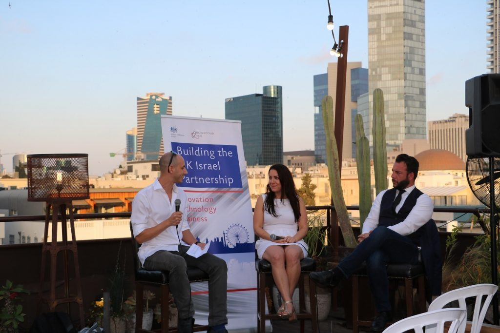 An NHSA meetup in Tel Aviv 2018. Photo courtesy of the British Embassy