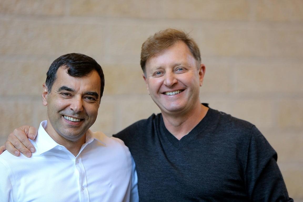 The founders of OrCam: Amnon Shashua and Ziv Aviram. Courtesy