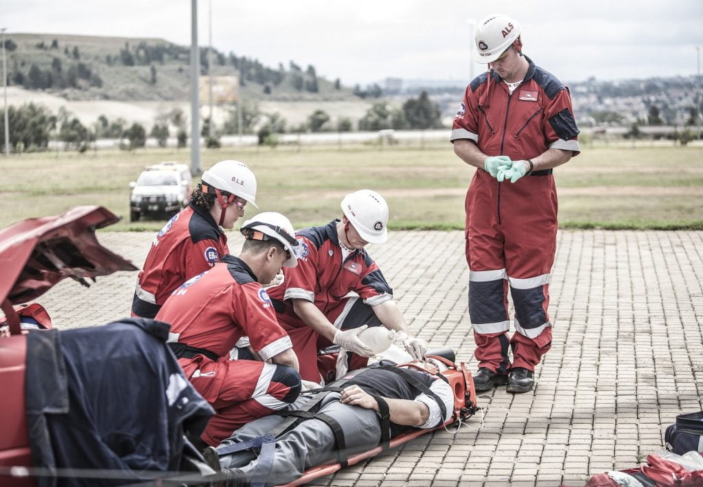 An illustrative photo of paramedics. Photo by ER24 EMS (Pty) Ltd via Flickr