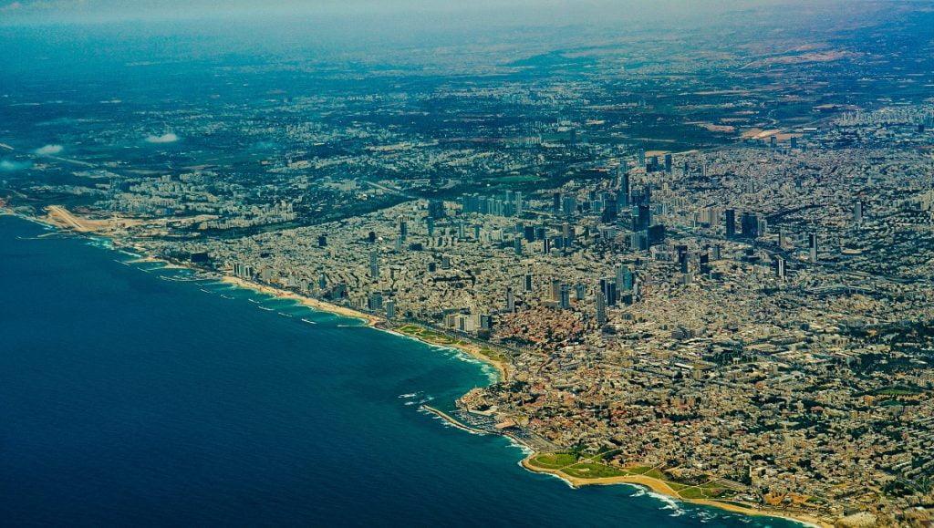 An aerial shot of Tel Aviv. Photo by Ted Eytan via Flickr, CC BY-SA 2.0