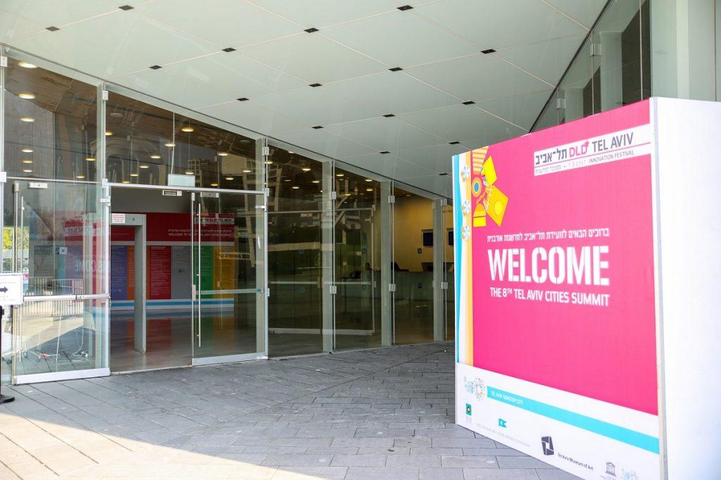 The Tel Aviv Cities Summit in 2017. Photo via the Municipality of Tel Aviv on Flickr