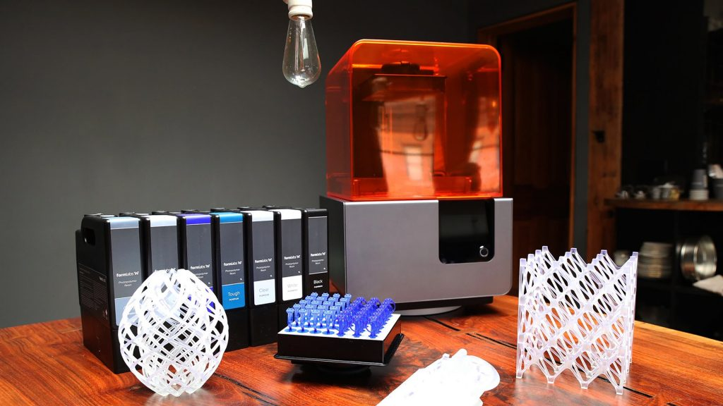 Screenshot of a Formlabs 3D printer. via YouTube