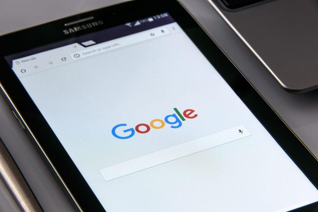 Google on mobile. Photo via Pexels