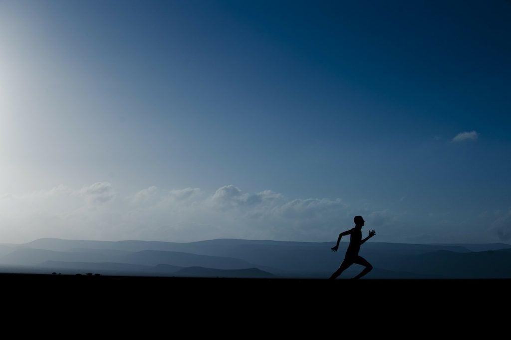 A jogger. Photo via Pixabay