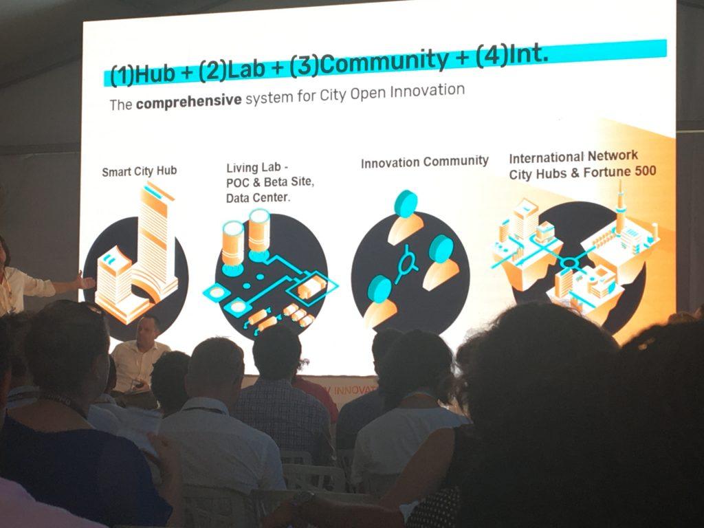 Tel Aviv's plan for city open innovation. Photo by Simona Shemer