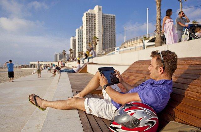 Tel Aviv Smart City. Photo by Kfir Bolotin.