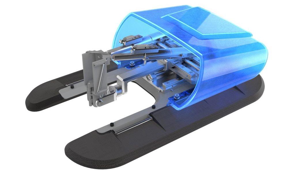 XACT Robotics needle steering system. Photo via xactrobotics.com