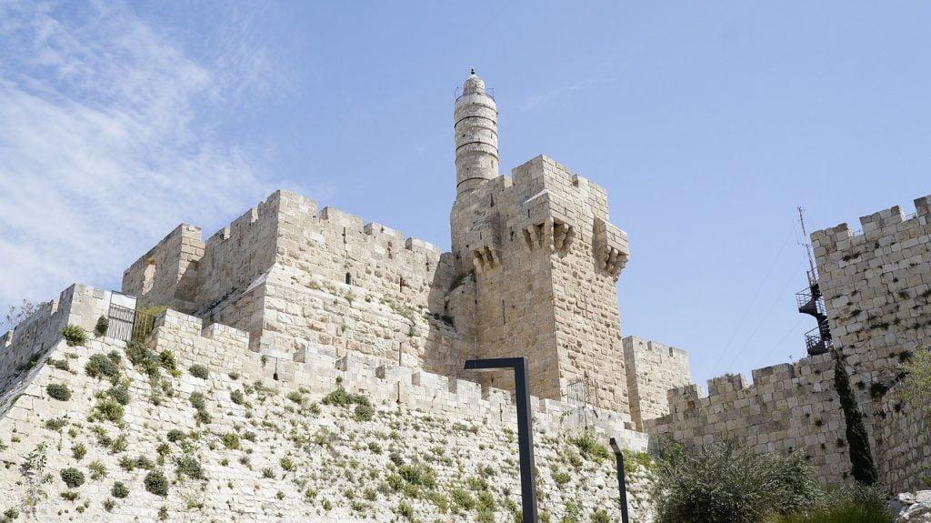 The Tower of David. Photo via Pixabay