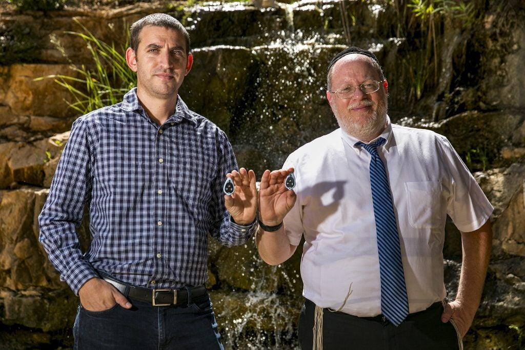 Lishtot founders Netanel Raisch, and Dr. Alan Bauer. Photo by Olivier Fitoussi for Lishtot