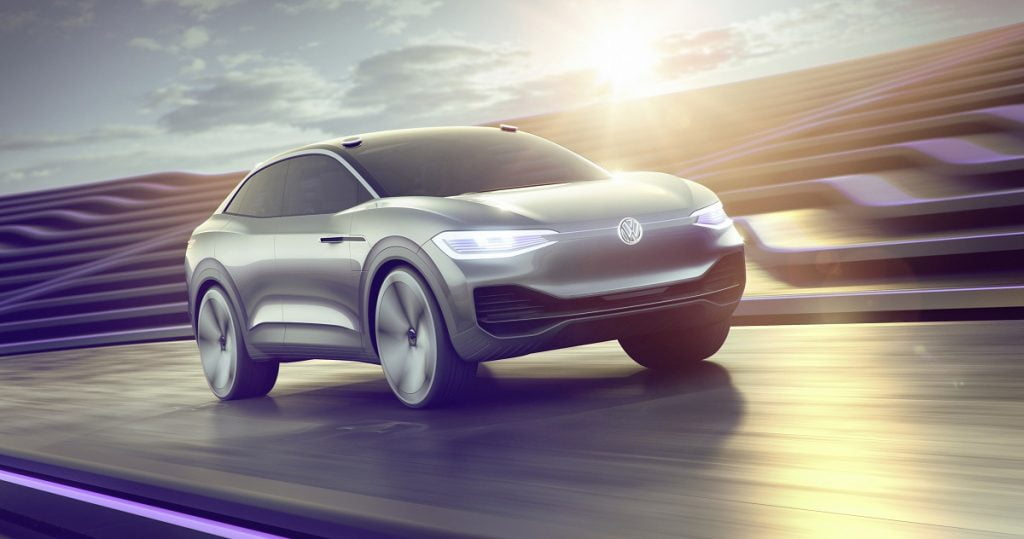 A Volkswagen electric showcar. Photo via Volkswagen Group)