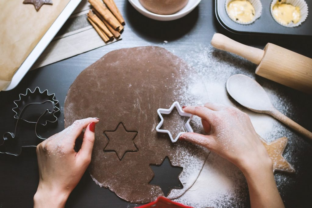 Star cookies. Photo via Pexels
