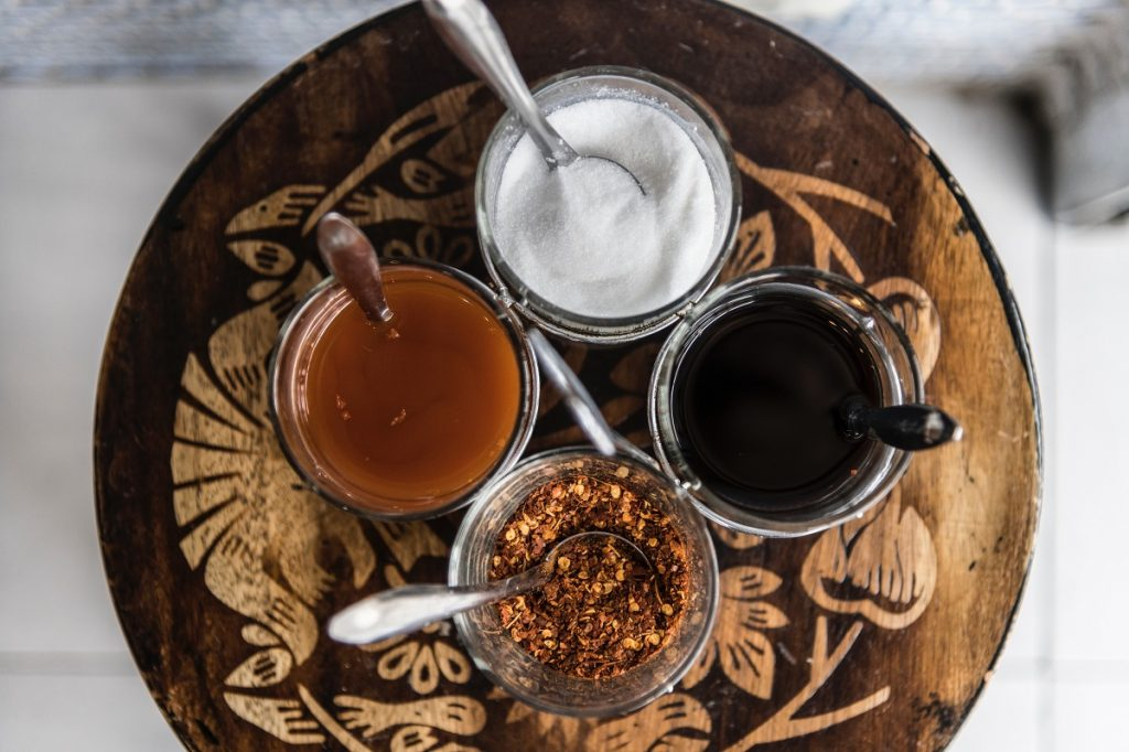 An illustrative photo of different sweeteners. Photo by rawpixel on Unsplash