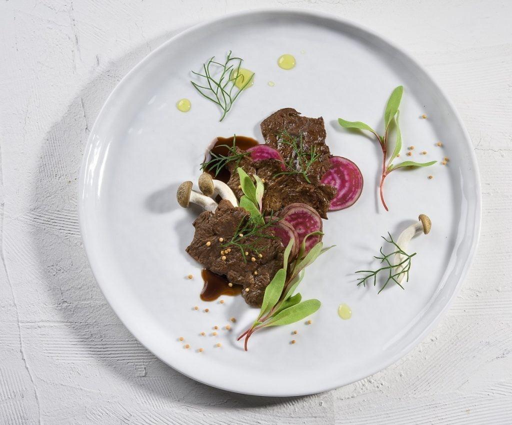 Aleph Farms' lab-grown steak. Courtesy