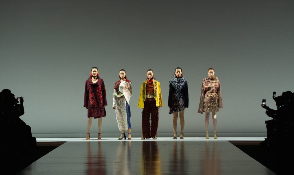 Ganit Goldstein's Between The Layers collection. Courtesy