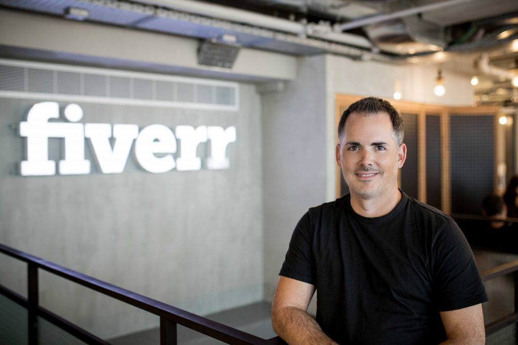 Fiverr CEO Micha Kaufman. Photo by Omer Hacohen
