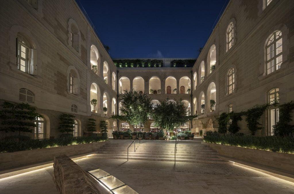 The Jaffa Courtyard. Photo by Amit Geron.