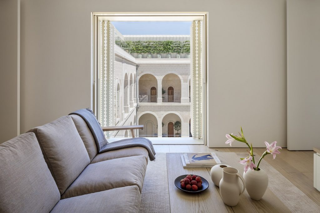 The Jaffa Residences Apartment. Photo by Amit Geron.
