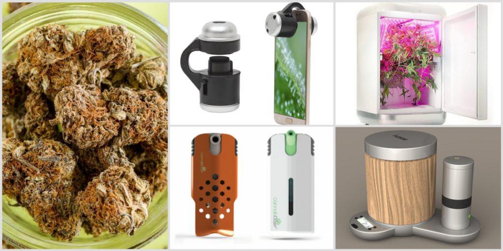 Composite of medical marijuana devices. Courtesy