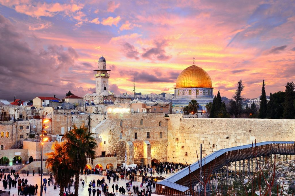 The Western Wall and the Temple Mount in Jerusalem's Old City. Deposit Photos