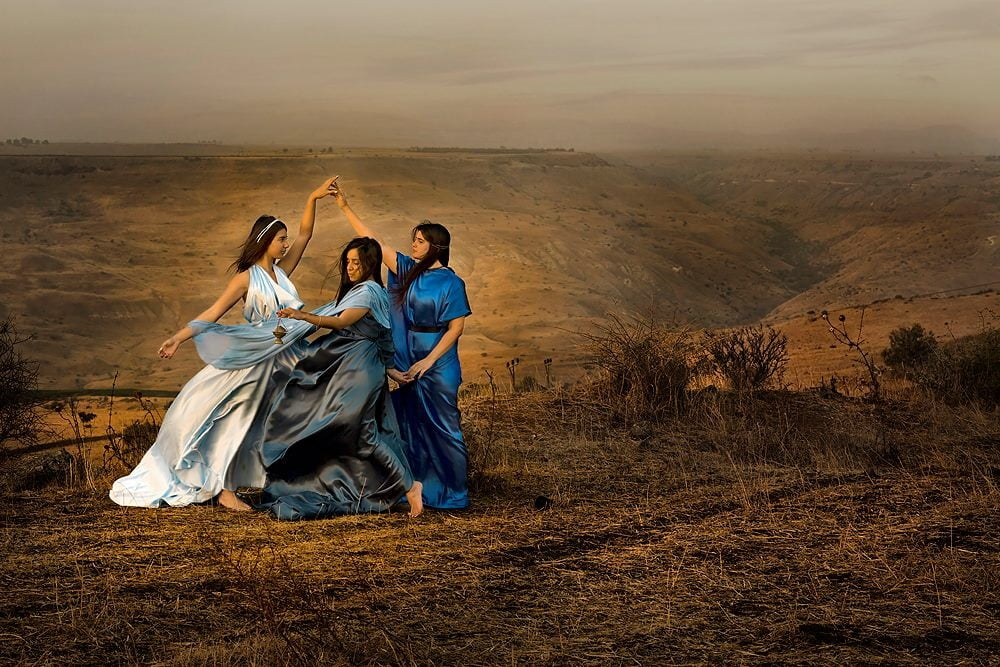 Israeli Photographer Brings Female Biblical Figures To Life With