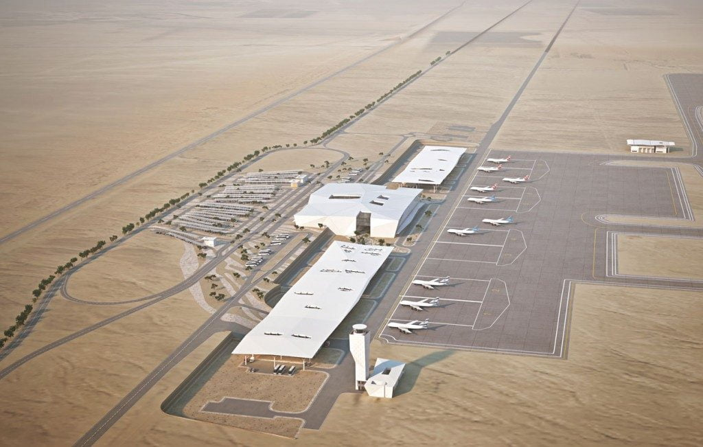 The Ramon Airport. Via http://www.ramon-airport.com/