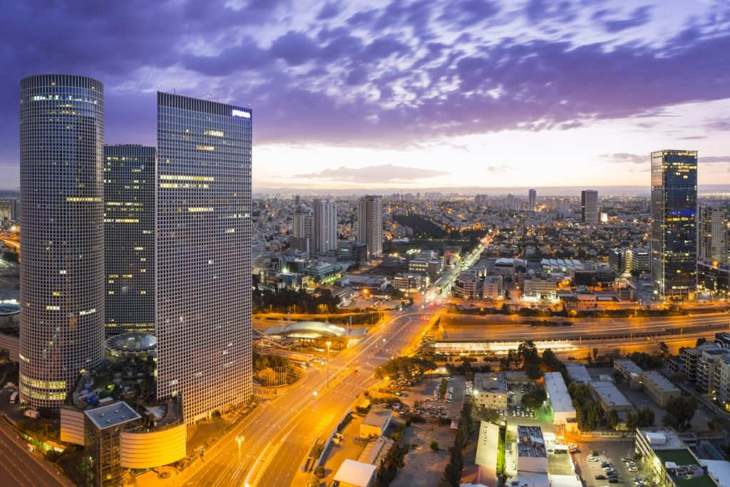 Azrieli Towers in Tel Aviv. Deposit Photos
