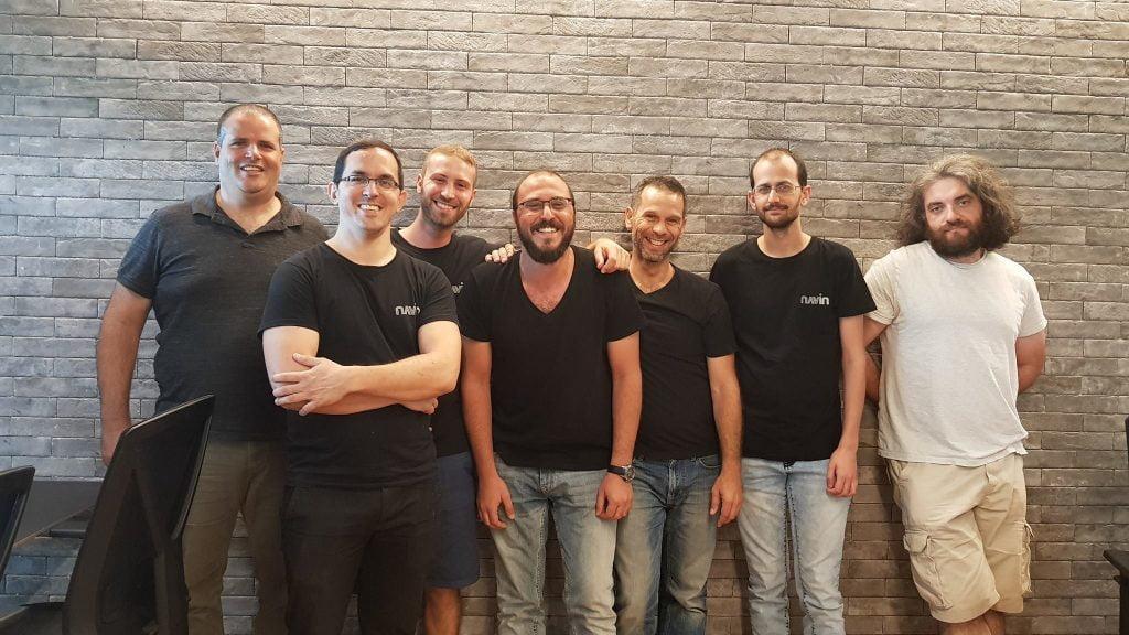 The Navin team, with CEO Shai Ronen on the far left. Courtesy