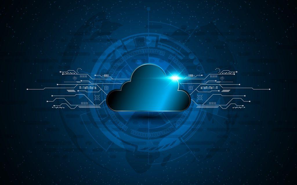 Illustrative photo of cloud technology. Deposit Photos