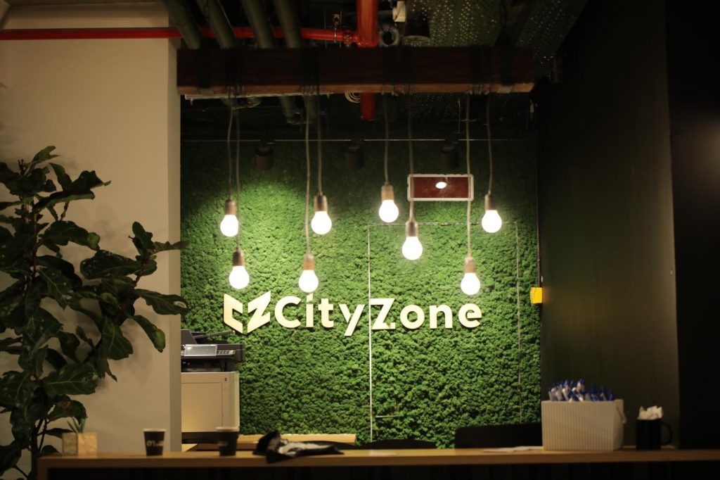 CityZone's offices at Atidim Park. Photo by Omer Hacohen