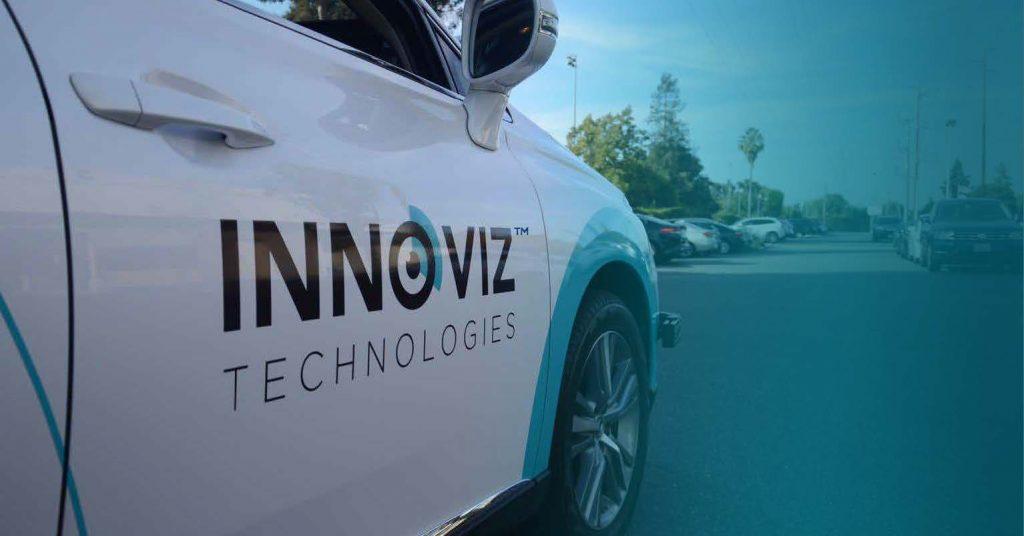 An Innoviz Technologies vehicle. Courtesy